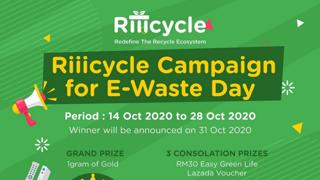 Riiicycle Campaign E-Waste Day (image credit : Riiicyle)