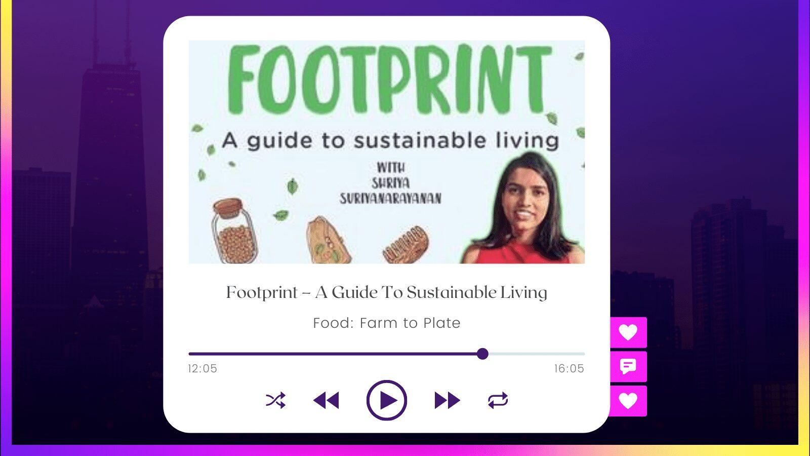Footprint Podcast Shriya Suriyanarayanan