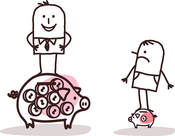 wealth inequality (illustration : iStock)