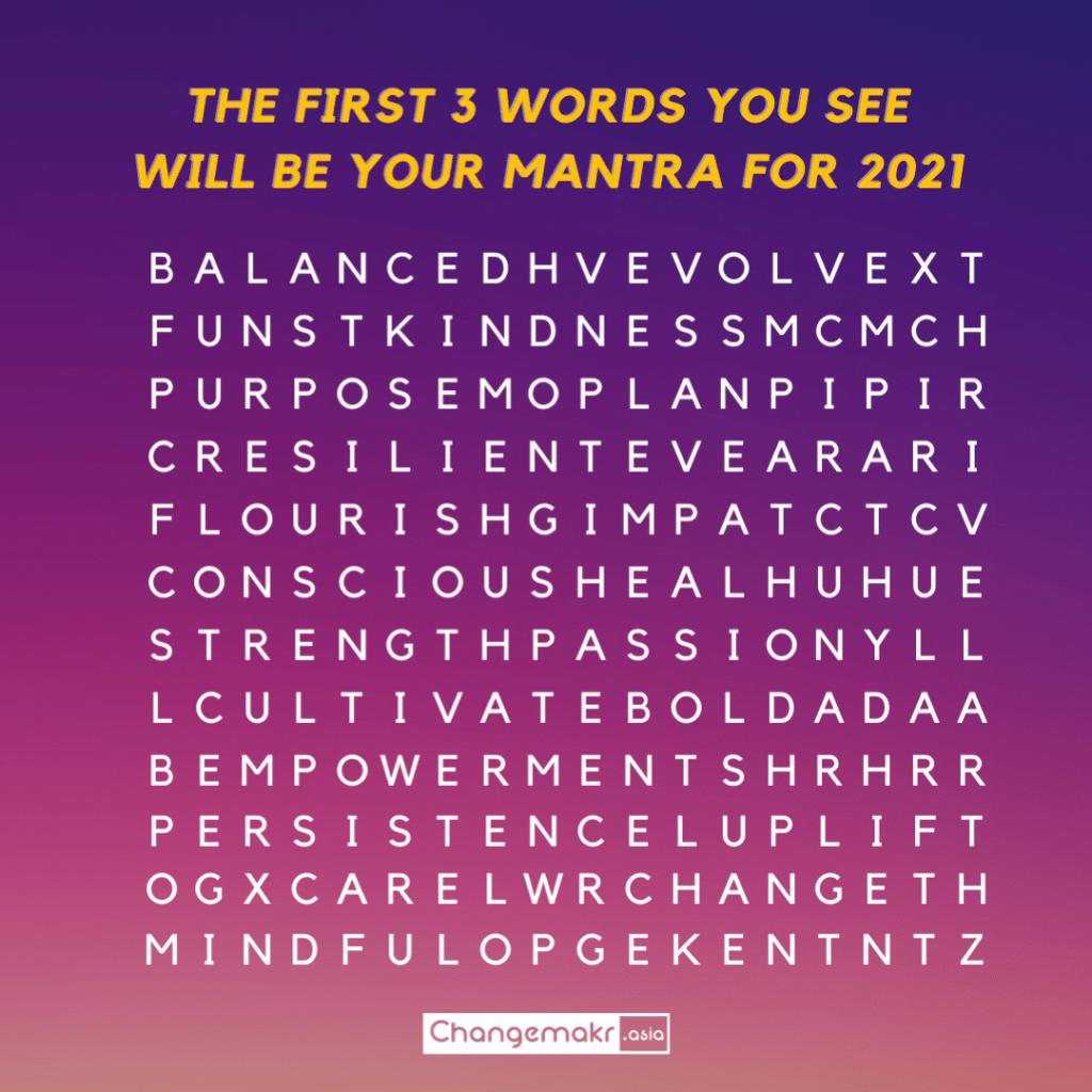 word search trivia   ChangeMakr Asia