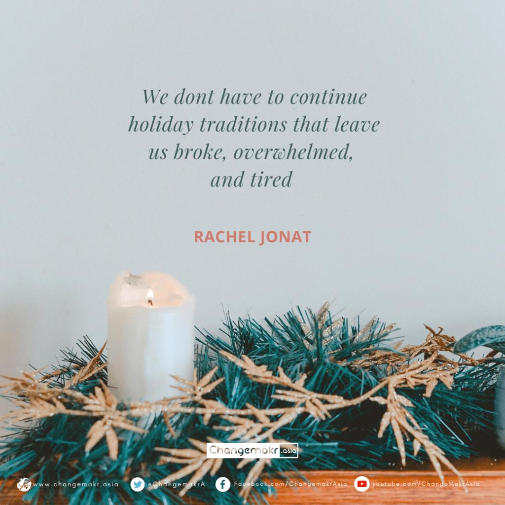 minimalist christmas quotes | ChangeMakr Asia