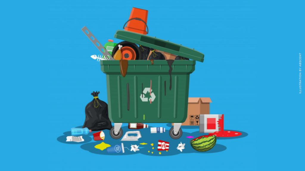 overflowing garbage bins | changemakr asia