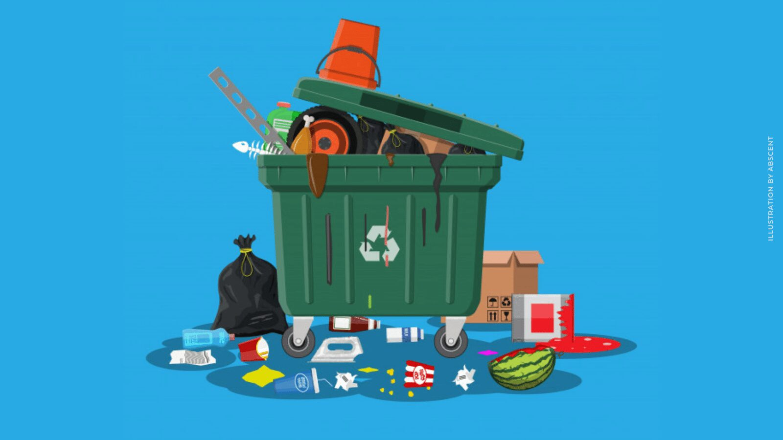 Read more about the article Overflowing Garbage Bins : It's Not Just An Eyesore
