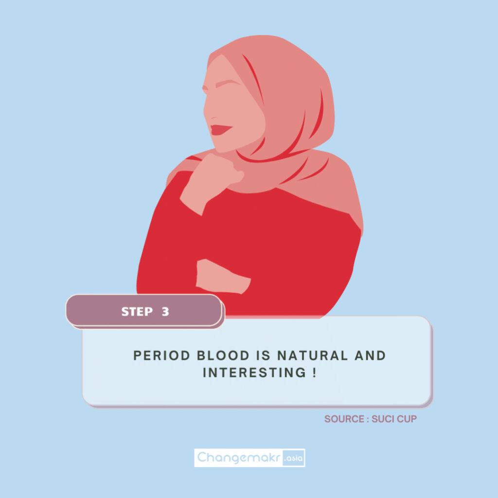 Menstrual cup breaking period taboo