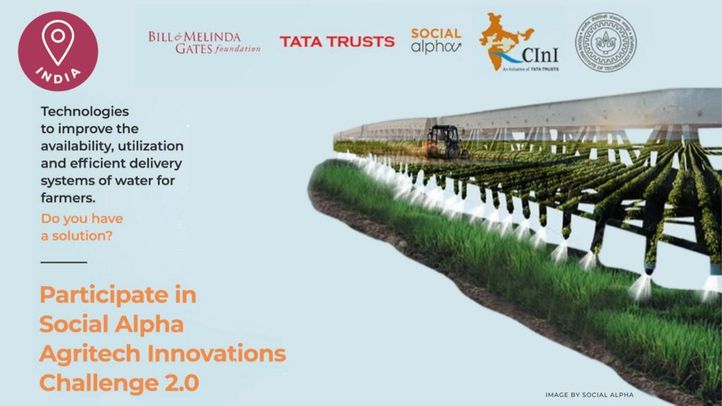 Social Alpha Agritech Innovations 2021 | ChangeMakr Asia