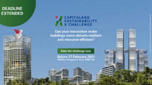 Capitaland Sustainability Challenge |ChangeMakr Asia
