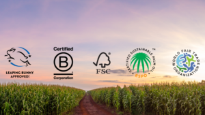Sustainable labels and certifications (image credit : changeMakr Asia)