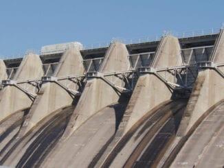Cherokee Dam Flood Gates