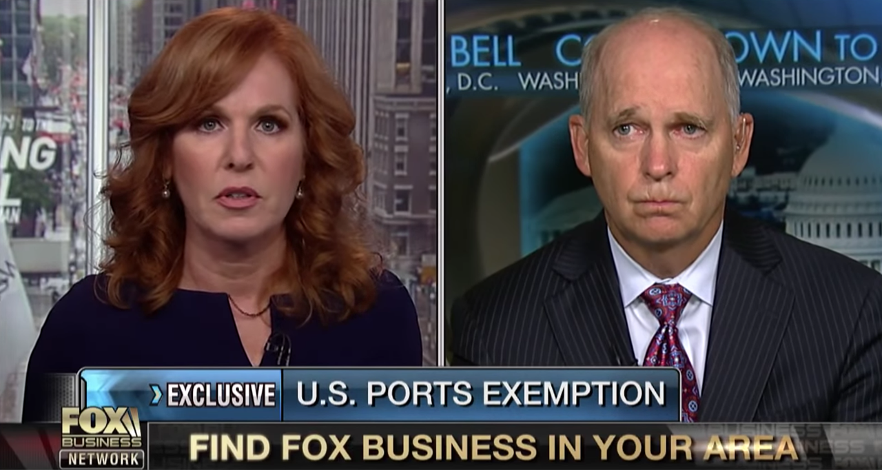 Kurt Nagle, President of the American Association of Port Authorities, appeared on FOX Business News