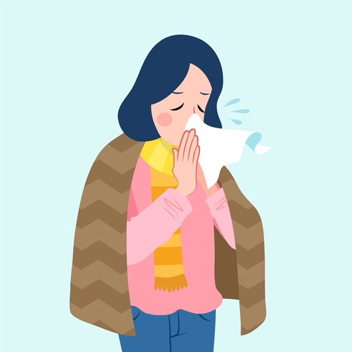 Flu and runny nose: