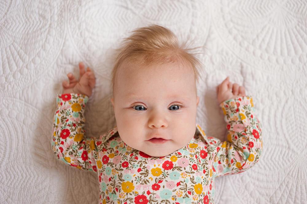 Happy 3 Months Caroline   Child Photographer, Baby Pohotographer, Hampton Roads Photographer, Lifestyle Photographer
