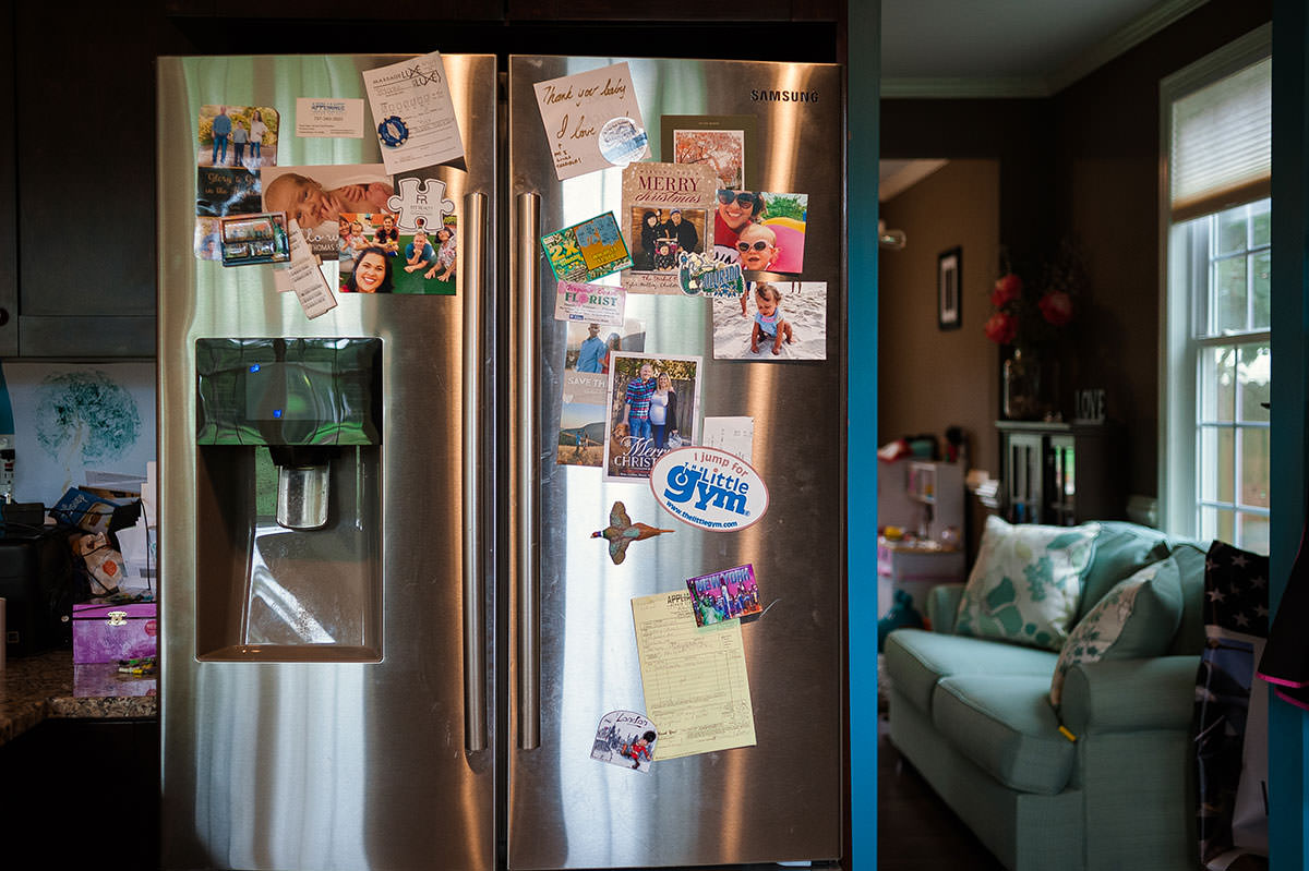 fridge with a story