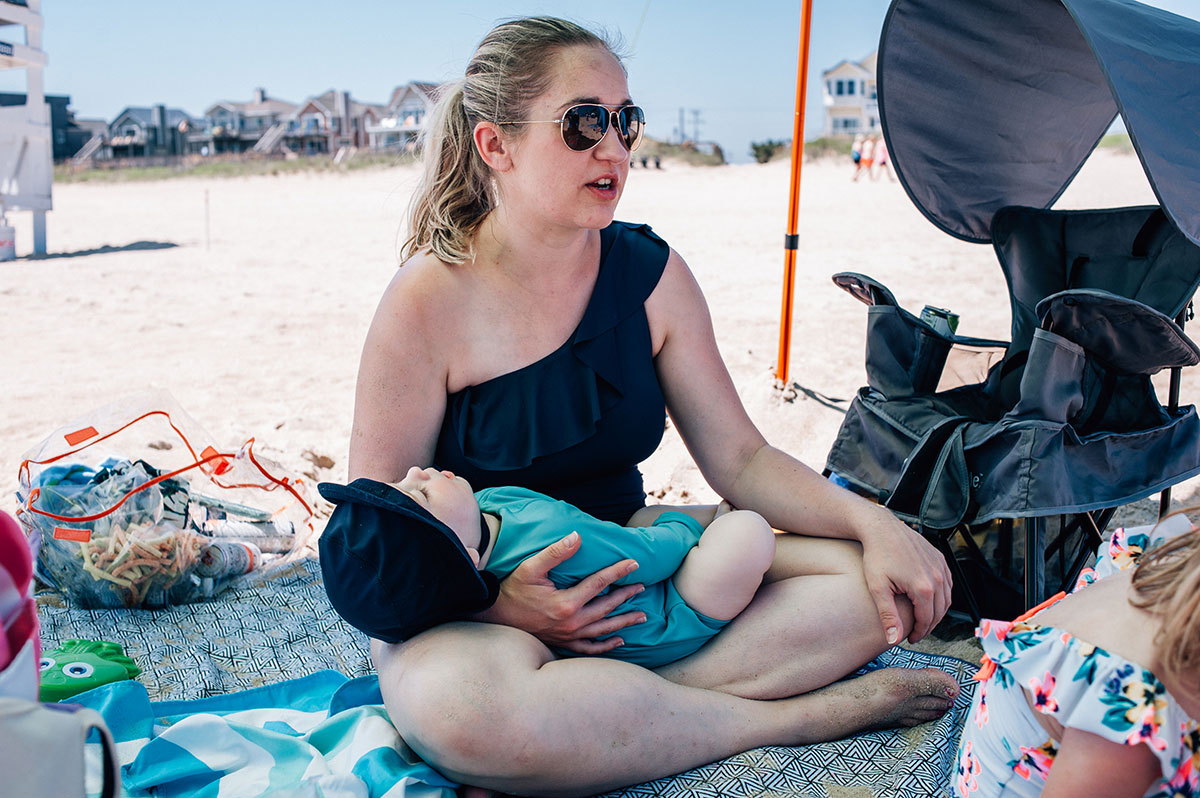 A Family Story Session in the Outer Banks of North Carolina with Dreama Spence