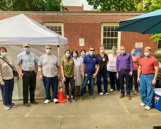 NEW Health Opens Pop-up COVID-19 Testing Site at Villa Michelangelo Senior Housing