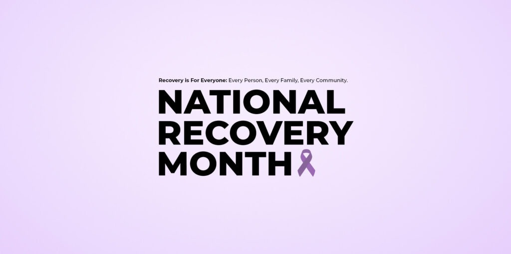 How Do We Celebrate Recovery Month at NEW Health?