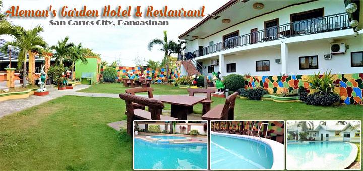 Aleman's Garden Hotel & Restaurant – San Carlos City, Pangasinan