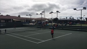 We all know that heavy racket feeling when you're on center court at Barnes Tennis Center (San Diego, Ca) USTA SCTA TOC