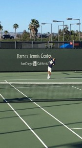 When the serve goes up, it must come down at Barnes Tennis Center (San Diego, Ca) - USTA SCTA TOC