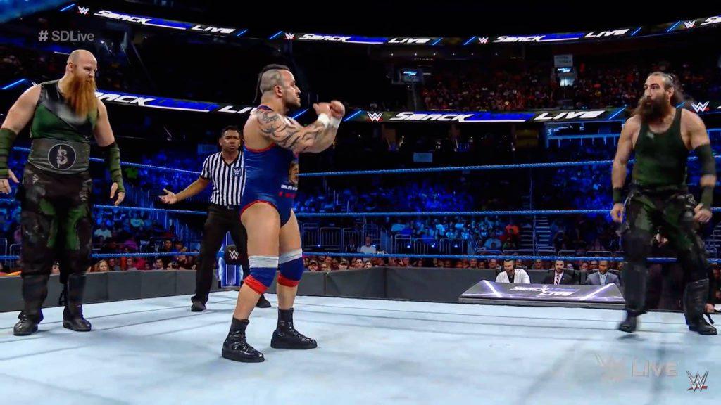 WWE Smackdown LIVE, 2018