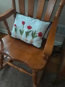 Maria tulip row
