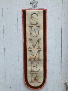 Summer Bell Pull
