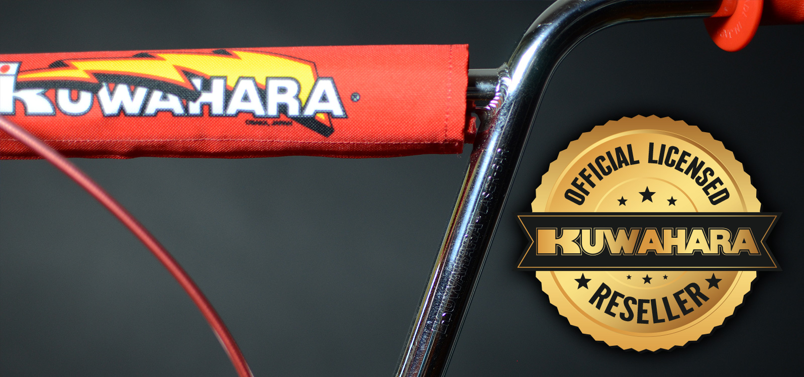 It's Official!  We're an Authorized Worldwide Reseller Of Kuwahara Decals!
