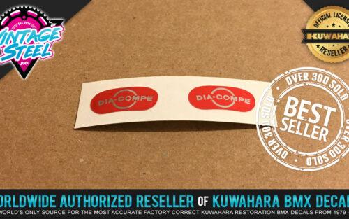 Factory Correct Dia Compe MX BMX Decal Stickers