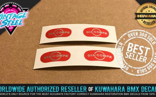 Factory Correct Dia Compe & Weinmann BMX Decal Stickers