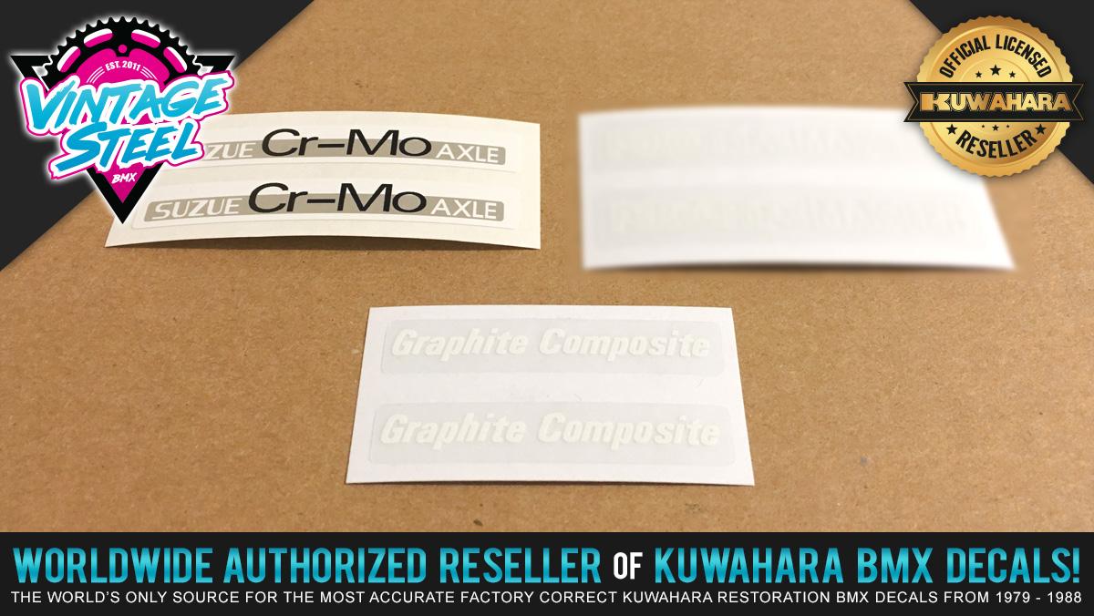 Factory Correct Peregrine Master & Suzue Wheel BMX Decal Stickers