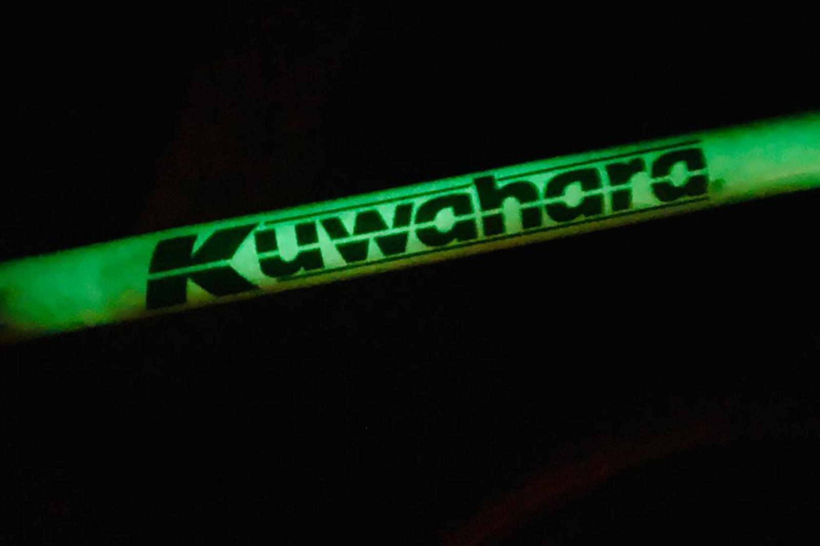 1986 Kuwahara Bravo KT Glow In The Dark Vintage Freestyle BMX
