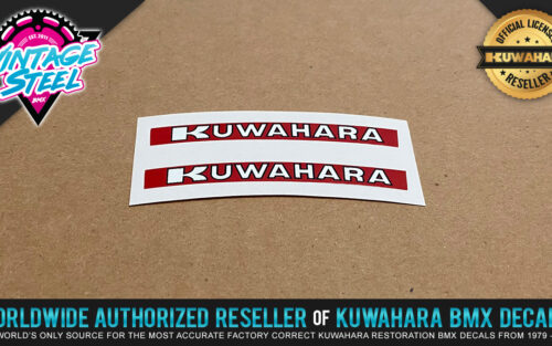 Kuwahara Tire Decal Stickers for IRC Comp 2 & Comp 3 Tires