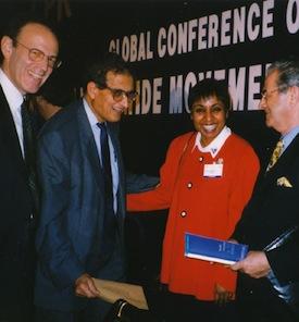 With Nobel Laureate Economy - Amartya Sen