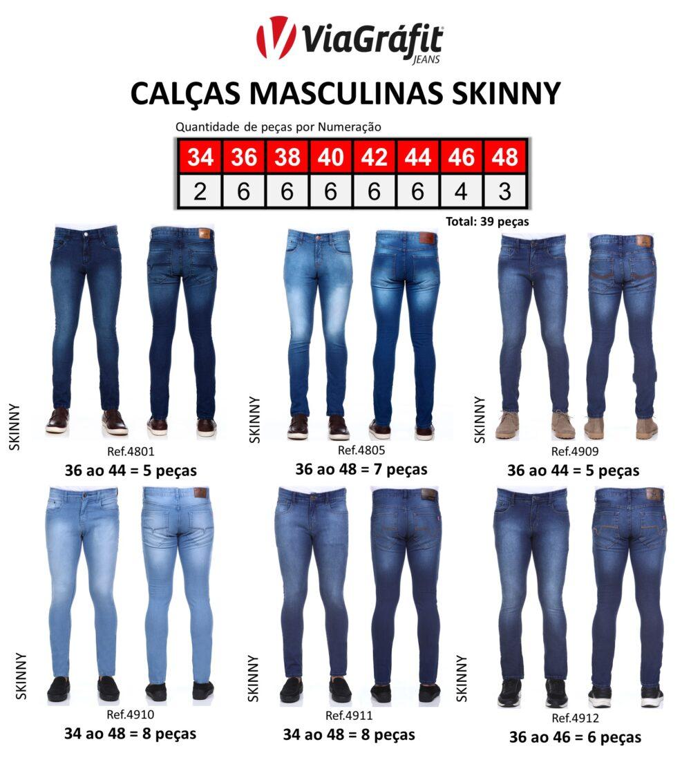 Calcas Masculinas Skinny