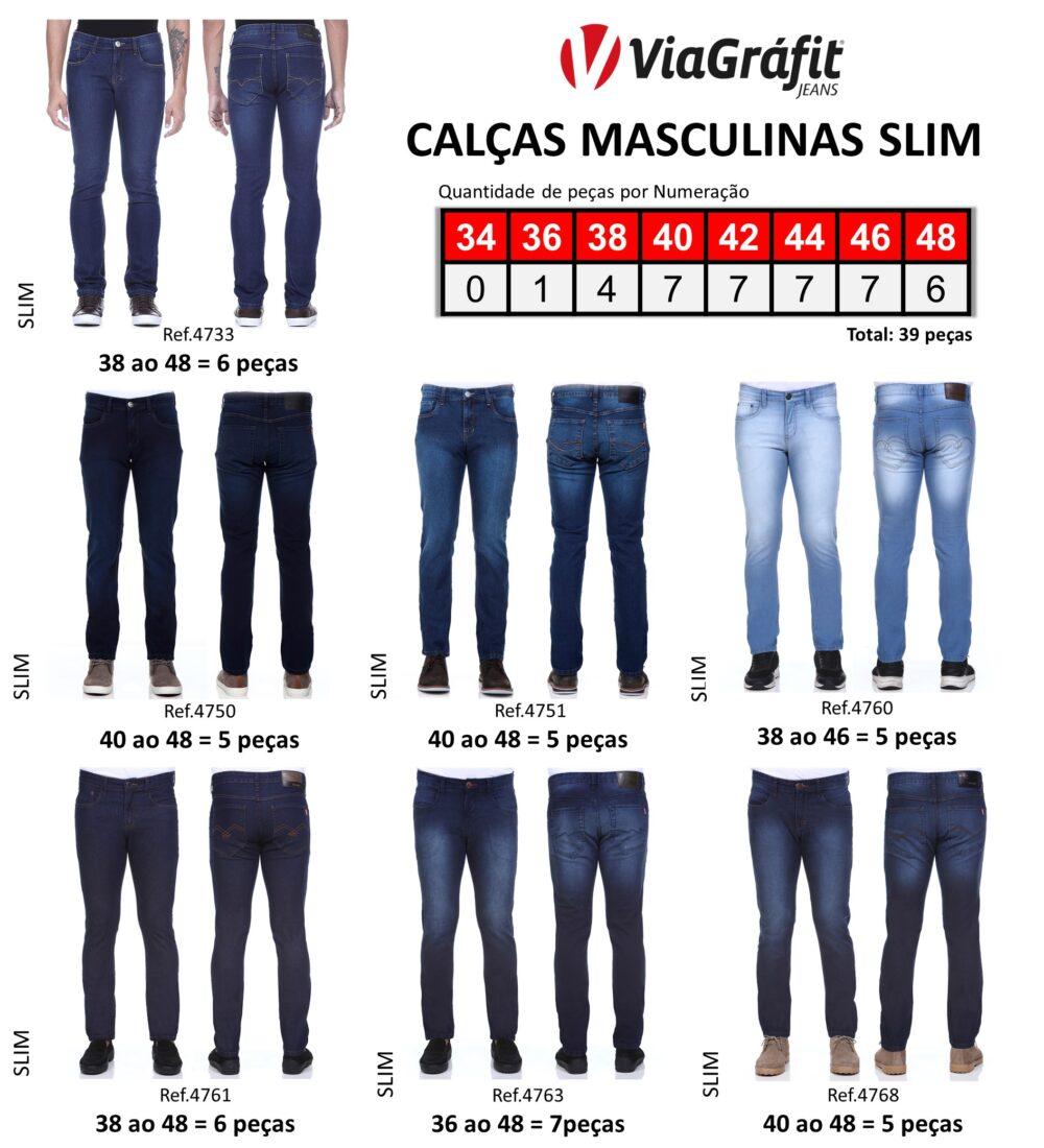 Calcas Masculinas Slim