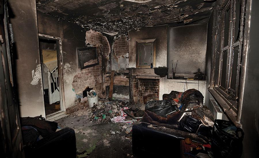 fire damage clean up Atlanta