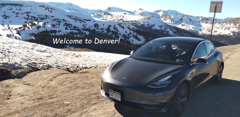 Turo Tesla in Denver DIA