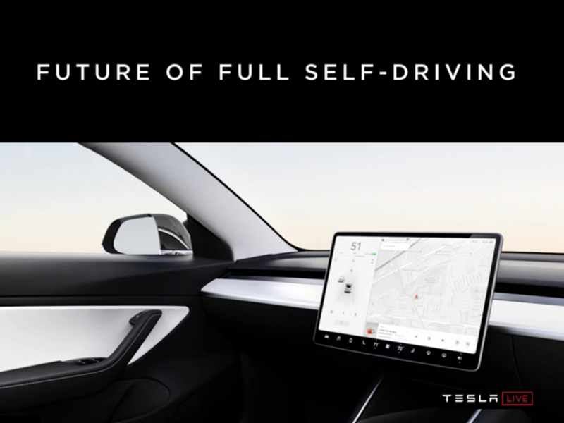 Future of Autonomous Driving: Tesla Autonomy Day