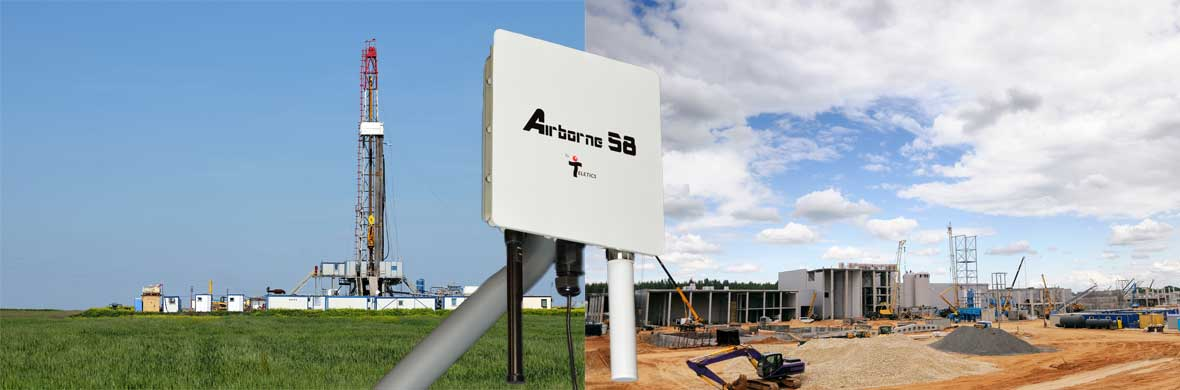 Airborne wireless IP radio