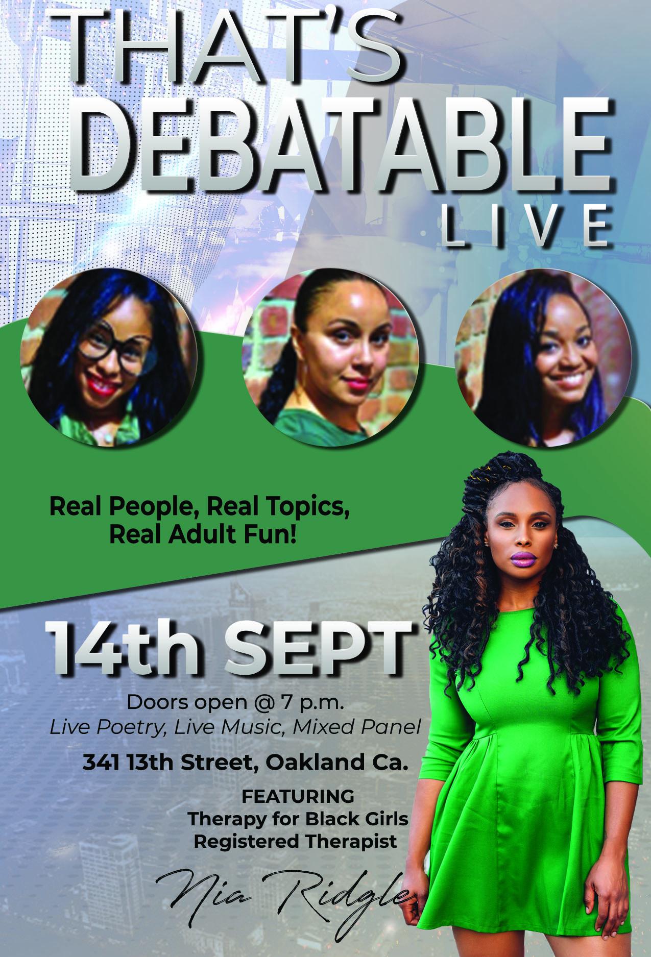 the debate live - nia1