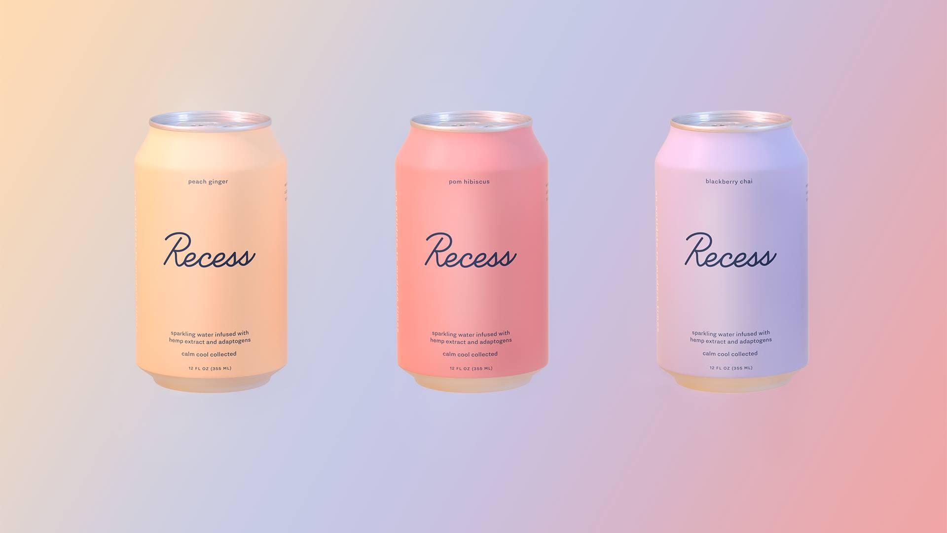 Recess CBD beverage