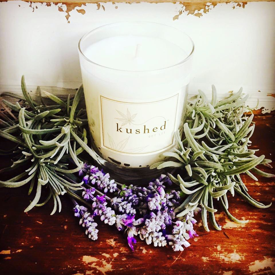 Kushed Get lit candle