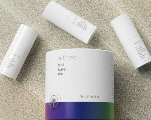 Aethera Beauty Mini Travel Trio