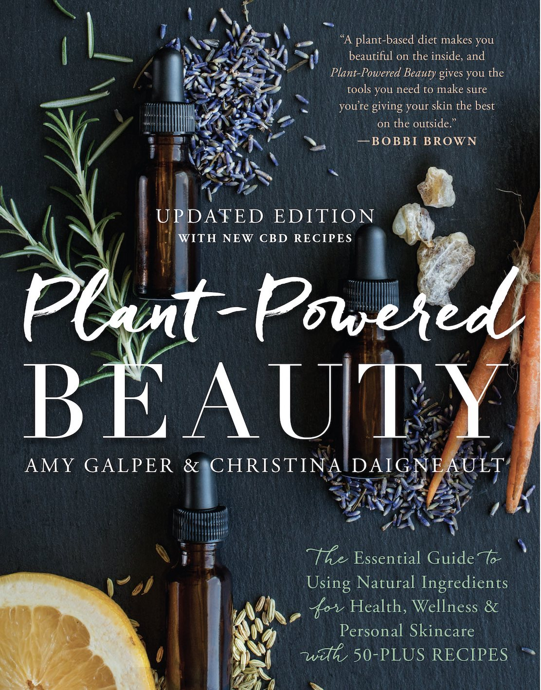 New Book Edition with CBD Beauty Recipes