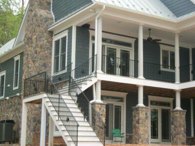 decorative rod iron railings