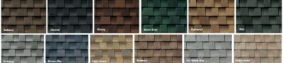 TimberlineHD-Shingle Colors