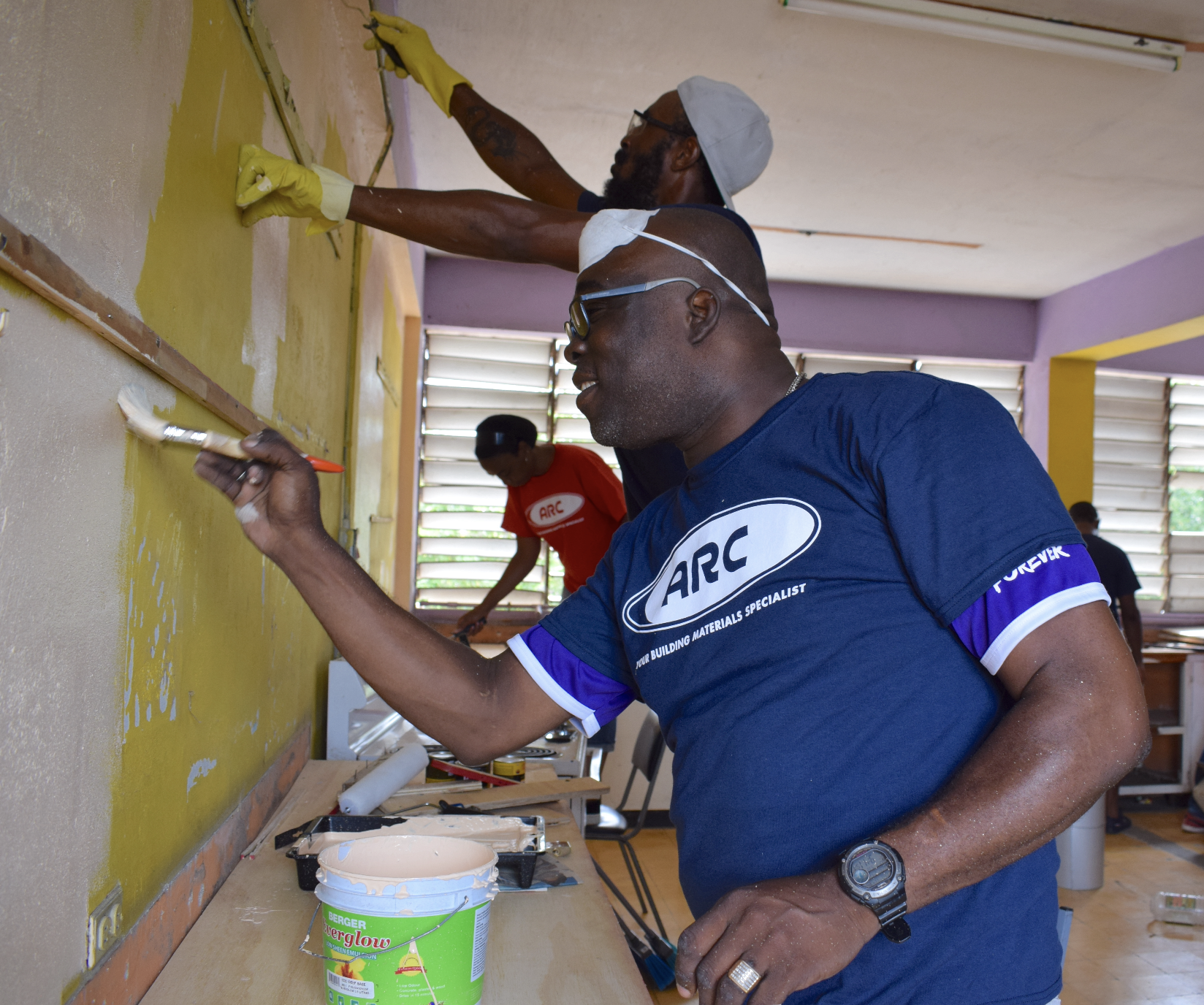 ARC Team Joins Community Members to Give Haile Selassie High Facelift