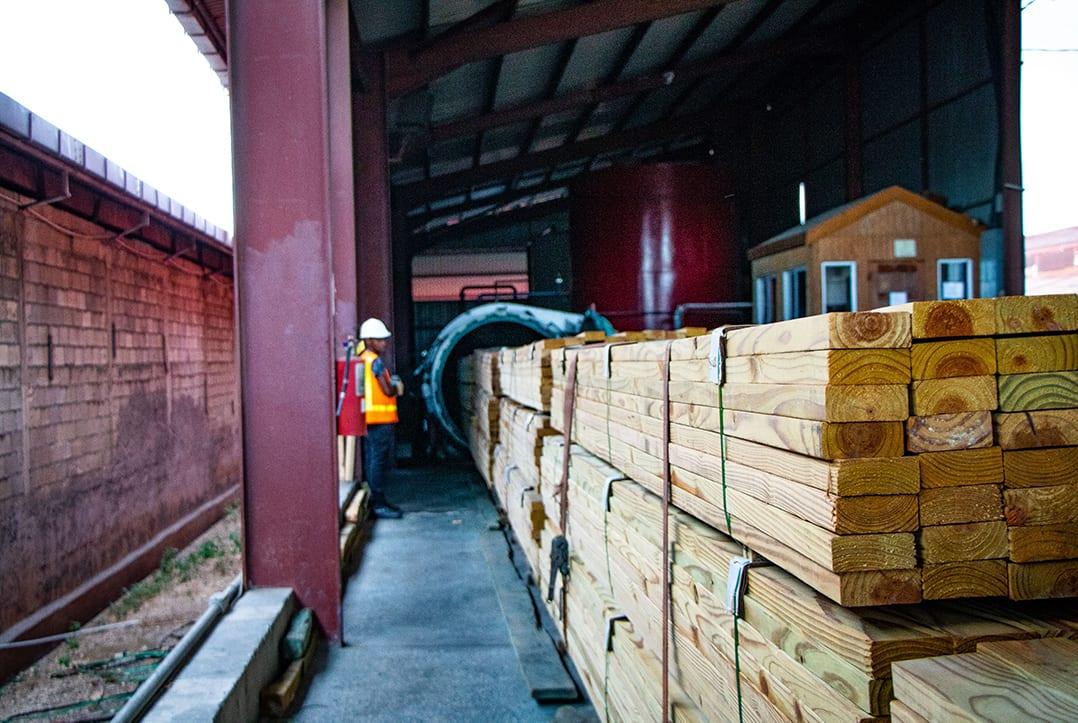 lumber plant