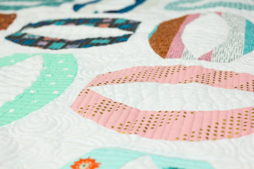 Konfetti™ can be used for quilting or longarming to elevate your projects for a clean professional finish.
