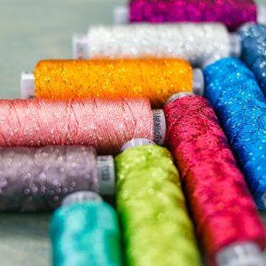 Sue Spargo Dazzle™ - 8wt/6ply Rayon with Metallic Thread