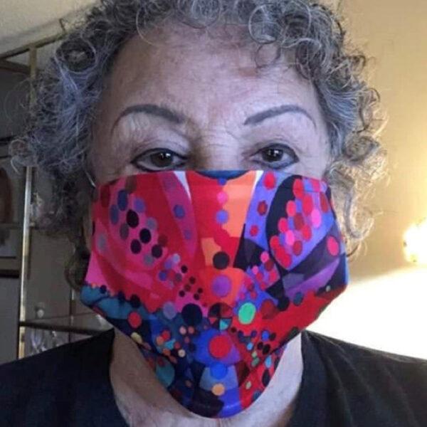 Client Wearing Ronski Face Mask | Face Masks by Ronski